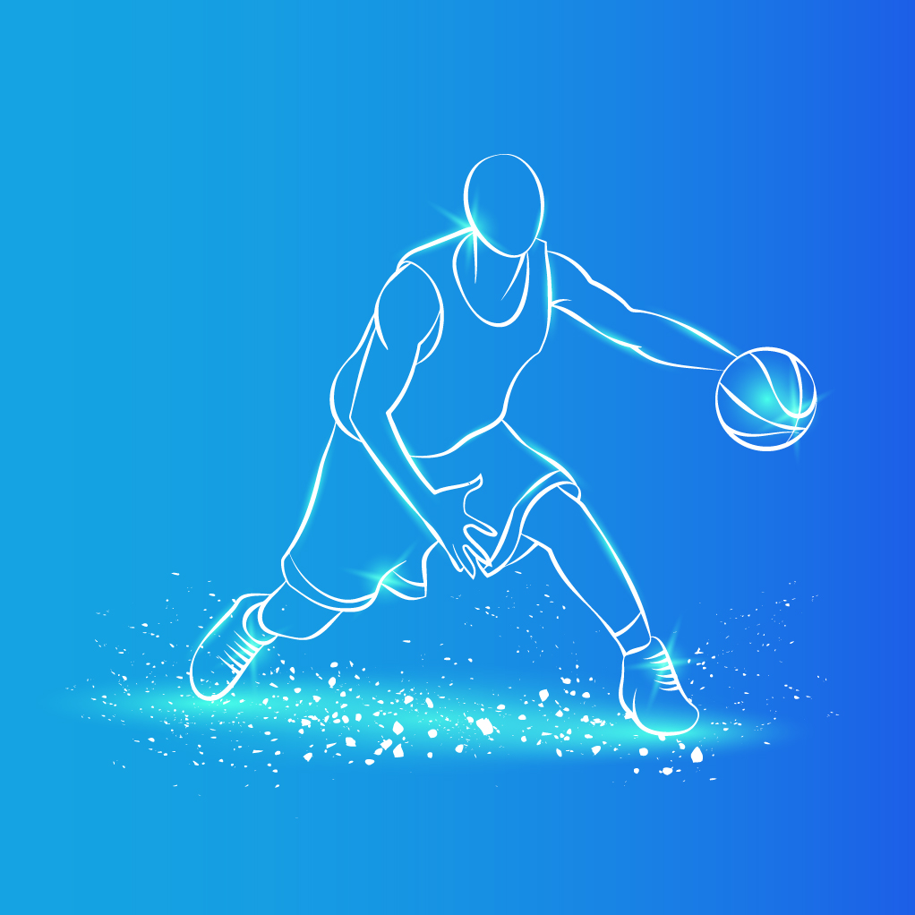 لاعب كرة سلة