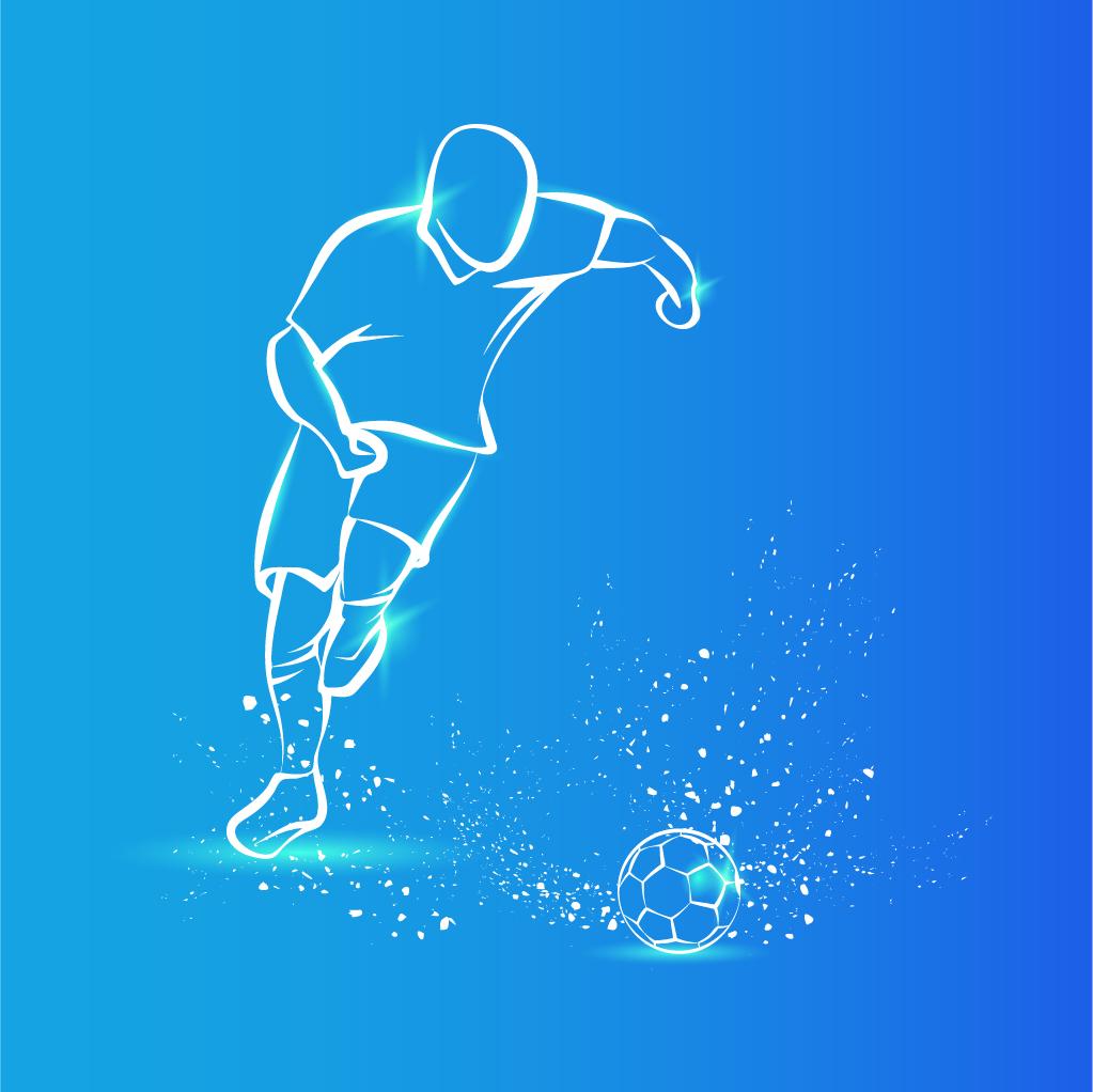 لاعب كرة قدم